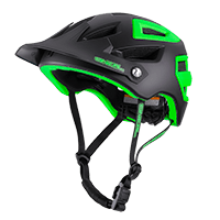 PIKE Helmet black/green S/M (55-58cm) - bike´n soul Shop