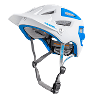 PIKE Helmet white/blue S/M (55-58cm) - bike´n soul Shop