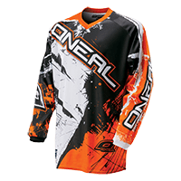 ELEMENT Jersey SHOCKER black/orange S - bike´n soul shop saalbach hinterglemm