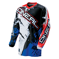 ELEMENT Jersey SHOCKER black/blue/red S - bike´n soul shop saalbach hinterglemm