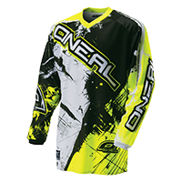 ELEMENT Jersey SHOCKER black/hi-Viz S - bike´n soul shop saalbach hinterglemm