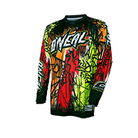 ELEMENT Jersey VANDAL black/neon L - bike´n soul shop saalbach hinterglemm