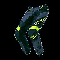 ELEMENT Pants RACEWEAR black/gray/hi-viz 28/44 - bike´n soul Shop