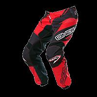 ELEMENT Pants RACEWEAR black/red 28/44 - bike´n soul Shop