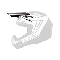 Spare Visor 2Series Helmet ARROW black/white - bike´n soul shop saalbach hinterglemm