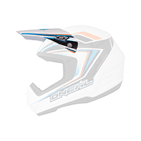 Spare Visor 2Series Helmet ARROW black/blue/white - bike´n soul shop saalbach hinterglemm