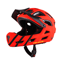 Thunderball PRO Youth Helmet red/black XXS/52-S/56 - bike´n soul shop saalbach hinterglemm