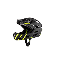 Thunderball PRO Youth Helmet black/hi-viz XXS/52-S/56 - bike´n soul shop saalbach hinterglemm