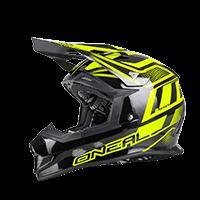 2Series EVO Helmet MANALISHI black/neon yellow L (59/60cm) - bike´n soul Shop