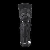 PARK FR Carbon Look Knee Guard black/white XS - bike´n soul shop saalbach hinterglemm