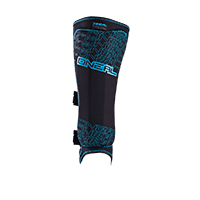 Straight Shin Guard black/blue S - bike´n soul shop saalbach hinterglemm