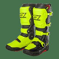 RDX Boot black/hi-viz 10,5/44 - Pulsschlag Bike+Sport