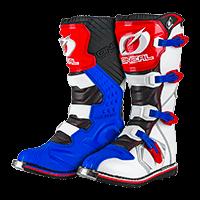 RIDER Boot EU blue/red/white 39/7 - bike´n soul shop saalbach hinterglemm