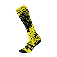 Pro MX Sock ENIGMA black/hi-viz (One Size) - bike´n soul shop saalbach hinterglemm