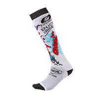 Pro MX Sock VILLAIN white (One Size) - Pulsschlag Bike+Sport