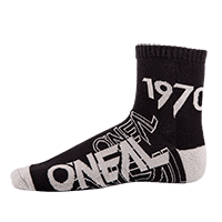 CREW Sock black/gray (39-42) - bike´n soul shop saalbach hinterglemm
