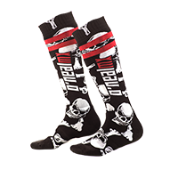 Pro MX Sock Crossbones black/white (One Size) - Pulsschlag Bike+Sport