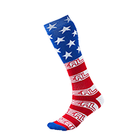Pro MX Sock USA white/blue/red - Rennrad kaufen & Mountainbike kaufen - bikecenter.de