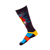 Pro MX Sock BRAAAPP black/multi - bike´n soul shop saalbach hinterglemm