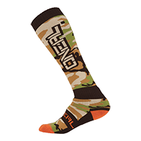Pro MX Sock WOODS CAMO Black/Green - Pulsschlag Bike+Sport
