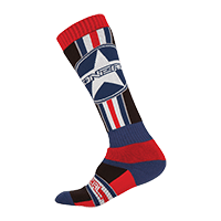 Pro MX Sock AFTERBURNER Black/Blue/Red - bike´n soul shop saalbach hinterglemm
