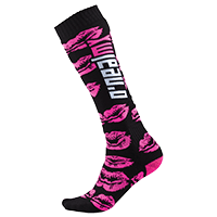 Pro MX Sock XOXO black/pink (One Size) - Rennrad kaufen & Mountainbike kaufen - bikecenter.de