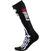 Pro MX Sock XRay black/white (One Size) - Pulsschlag Bike+Sport