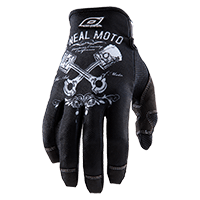 MAYHEM Glove PISTONS black/white S/8 - bike´n soul shop saalbach hinterglemm