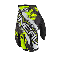 JUMP Glove SHOCKER Black/Neon Yellow L/9 - bike´n soul shop saalbach hinterglemm
