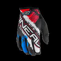 JUMP Glove SHOCKER black/blue/red L/9 - bike´n soul shop saalbach hinterglemm