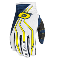 ELEMENT Youth Glove blue/yellow L/6 - Pulsschlag Bike+Sport
