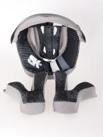 Lining & Cheek Pads Spark Fidlock Carbon DH helmet black L - bike´n soul shop saalbach hinterglemm