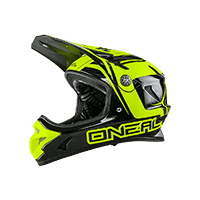 Spark Fidlock DH Helmet STEEL neon yellow XS (53-54 cm) - bike´n soul Shop