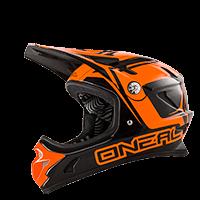 Spark Fidlock DH Helmet STEEL black/orange XS (53-54 cm) - bike´n soul Shop