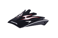 Spare Visor Backflip Helmet black-silver - bike´n soul Shop
