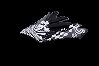 Spare Visor Backflip Helmet 09 black-white - bike´n soul shop saalbach hinterglemm