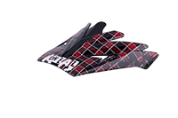 Spare Visor Backflip Helmet 09 red - bike´n soul shop saalbach hinterglemm