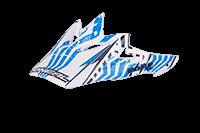 Spare Visor Backflip RL Helmet  white - bike´n soul shop saalbach hinterglemm