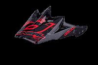 Spare Visor Fury Helmet  Repeat black high gloss - bike´n soul Shop
