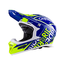 Fury RL Helmet FUEL blue/hi-viz XS (53/54cm) - bike´n soul Shop