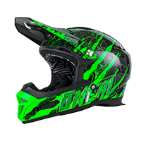 Fury RL Helmet MERCURY black/green M (57/58cm) - Pulsschlag Bike+Sport