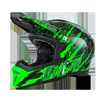 Fury RL Helmet MERCURY black/green M (57/58cm) - Pulsschlag Bike+Sport