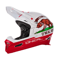 Fury RL Helmet CALIFORNIA white/red XS (53-54 cm) - bike´n soul Shop