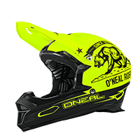 Fury RL Helmet CALIFORNIA black/neon yellow XS (53-54 cm) - bike´n soul shop saalbach hinterglemm