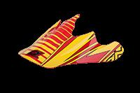 Spare Visor Fury Helmet - 2013 McFry red/yellow - bike´n soul Shop