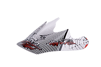 Spare Visor Fury Helmet - 2013 SERPENT white/ - bike´n soul Shop