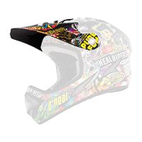 Spare Visor Backflip RL2 Helmet Evo CRANK black/multi - bike´n soul shop saalbach hinterglemm