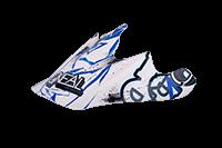 Spare Visor Backflip Fidlock DH Helmet Evo JUNGLE blue - bike´n soul shop saalbach hinterglemm
