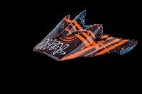 Spare Visor Backflip Fidlock DH helmet Mayhem Crypt orange/blue - bike´n soul shop saalbach hinterglemm