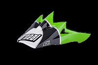 Spare Visor Backflip Fidlock DH Helmet  Gravity green - bike´n soul shop saalbach hinterglemm
